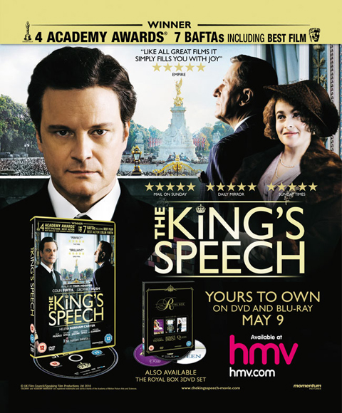 The Kings Speech promo