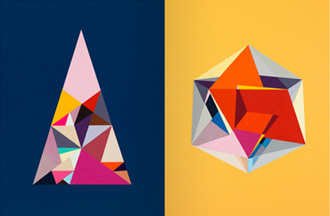Carl Kleiner geometric print