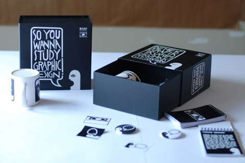 Senem Demirayak graphic design course welcome pack