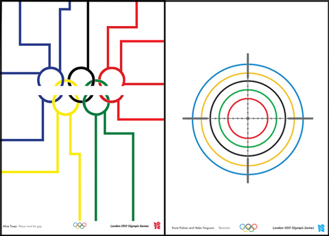 alternative 2012 Olympic posters