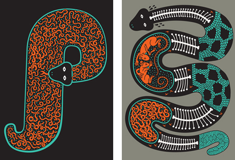 P is for Python by Serge Seidlitz